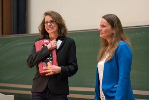 Konferenz 2016 (18): Prof. Dr. Eva Walther und Jun.-Prof. Dr. Corinna Peifer
