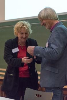 Konferenz 2016 (57): Prof. Dr. Michaela Brohm-Badry und Prof. Dr. Falko Rheinberg